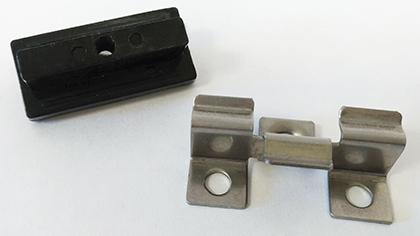 clips pour lames de terrasse composite