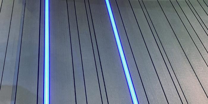 lame led terrasse composite