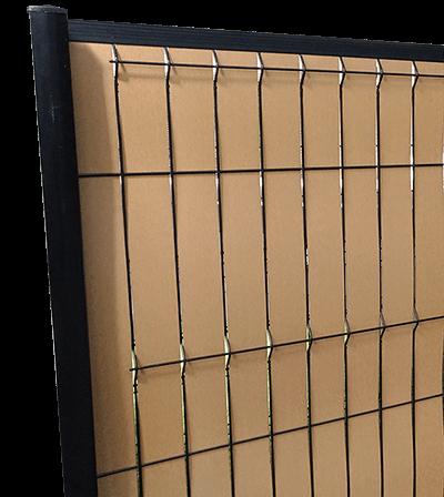 Lattes d'occultation REDCINHA® pour clôture 3MX
