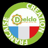 Clôture rigide française créée par Delclo®