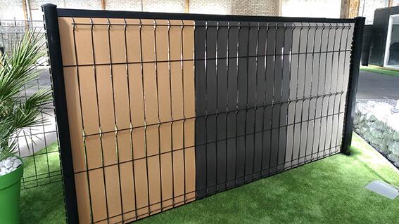 Kit occultant pour clôture rigide 3MX